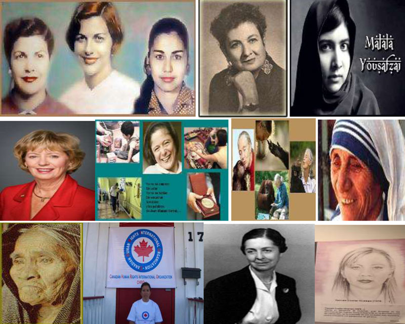CHRIO Canadian Human Rights International Organization commemorates International Women's Day